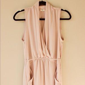 Wilfred blush dress